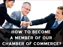 How to become a member of our Chamber of Commerce?